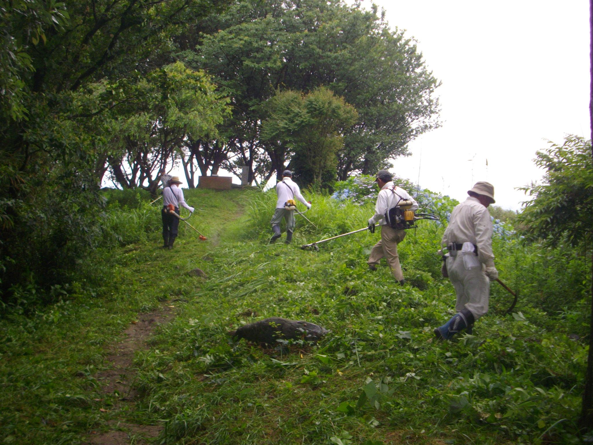 新立山草刈